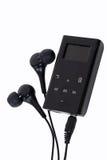 MP3 φορέας με τους οφθαλμούς αυτιών Στοκ εικόνες με δικαίωμα ελεύθερης χρήσης