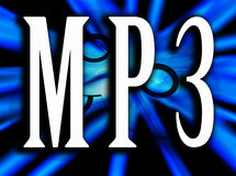 MP3 16 Stock Image