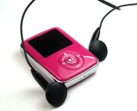 mp3 Royaltyfri Foto