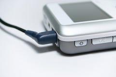MP3 angeschlossen Stockfotos