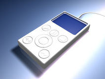 MP3 jogador 2 Imagem de Stock