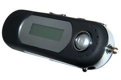 MP3 jogador w/Paths Imagem de Stock Royalty Free