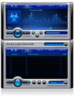 Mp3 media music player vector Royalty Free Stock Image