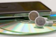 MP3 muziek Royalty-vrije Stock Fotografie
