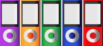 mp3 odtwarzacz muzyczny Zdjęcia Stock