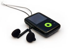 Mp3 player Royalty Free Stock Photos