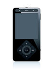 Mp3 player. Isolated on white Royalty Free Stock Image