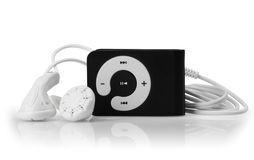 MP3-Player Lizenzfreies Stockfoto