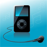 MP3-player Photographie stock