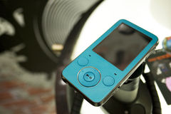 MP3 Player. Image of a MP3 in a shop Royalty Free Stock Photos