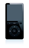 Mp3 player. Isolated vector illustration on white background Royalty Free Stock Image