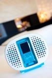 MP3-Player auf Standplatz Stockfotografie