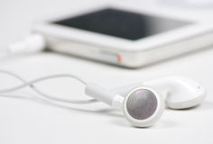 MP3 Player Close Up Stock Photography
