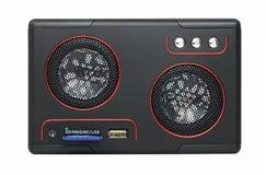 MP3-player com cartão-leitor e USB Fotografia de Stock Royalty Free