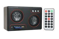 MP3-player com cartão-leitor e USB Imagens de Stock Royalty Free