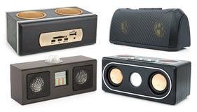 MP3-player mit Karteleser und USB Lizenzfreie Stockfotografie