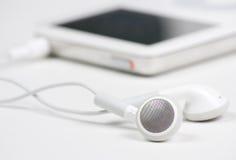 MP3-Player schließen oben Stockfotografie