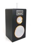 MP3-player und FM-Empfänger Stockbild