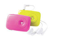 Mp3 players Stock Image