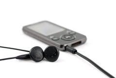 MP3 speler Royalty-vrije Stock Foto's