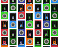 MP3 Wallpaper Stock Photo