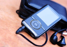 Mp3player stock photography
