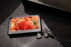 MP4 speler royalty-vrije stock fotografie