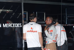 mp4 vodafone Mercedes mclaren Zdjęcie Stock