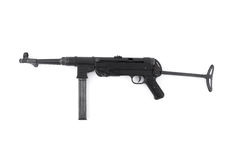 MP40 German submachine gun Stock Photos