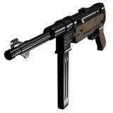 枪mp40 submachine 图库摄影