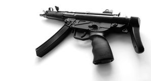 MP5A3 automatisch machinepistool Stock Afbeeldingen