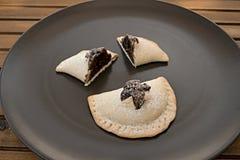 Mpanatigghi, χαρακτηριστικό κέικ από τη Σικελία Στοκ εικόνες με δικαίωμα ελεύθερης χρήσης