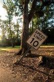 10 mph στοκ φωτογραφία
