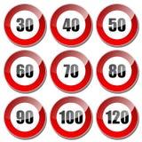 60 mph Стоковые Фотографии RF