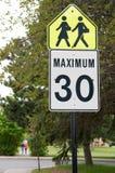 60 mph Foto de archivo