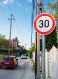 60 mph Fotografia Stock