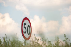 60 mph Foto de Stock