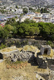 Mphoras on the courtyard of Bodrum Castle located in southwest Turkey Stock Images
