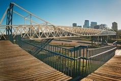 mpls mn приятельства моста стоковые изображения