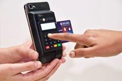 MPOS - Transacción móvil de los pagos imagen de archivo libre de regalías