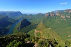 Mpumalanga, de Canion van de Rivier Blyde Stock Foto's