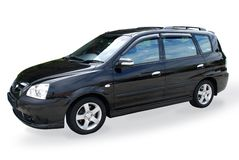 Mpv car Royalty Free Stock Photo