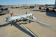 MQ-1 Predator Drone on display Royalty Free Stock Photography