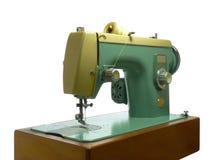 Máquina de coser eléctrica vieja Fotografía de archivo libre de regalías
