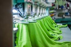Máquina de costura industrial Fotografia de Stock Royalty Free