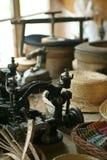 Máquina de costura velha Fotos de Stock