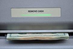 Máquina de dinheiro do ATM Fotografia de Stock Royalty Free