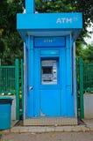Máquina de dinheiro do ATM Imagens de Stock