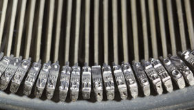 Máquina de escribir Imagen de archivo libre de regalías