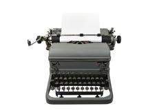 Máquina de escribir antigua Imágenes de archivo libres de regalías